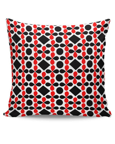 Black Floral Cushion Cover Online India