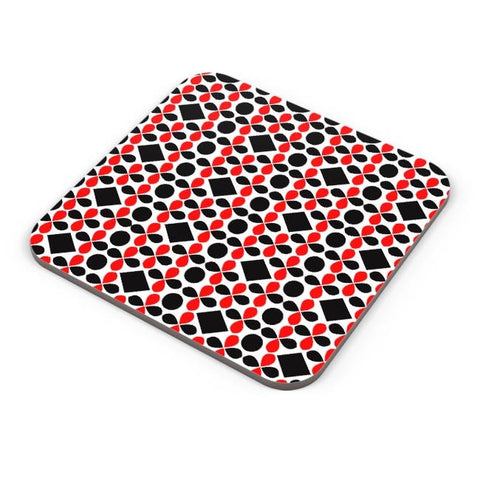 Black Floral Coaster Online India