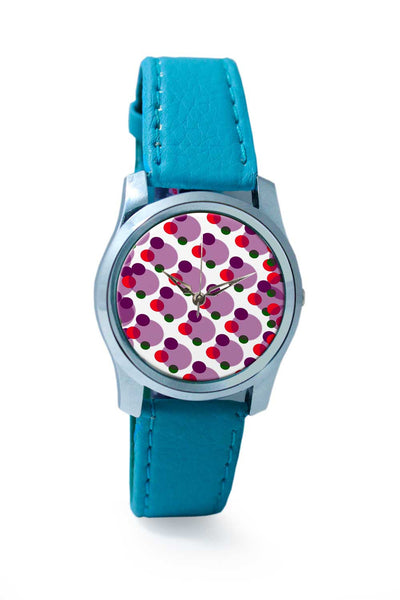 Women Wrist Watch India | White Circles Wrist Watch Online India