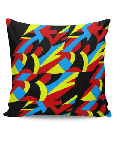 Abstract Colors Cushion Cover Online India
