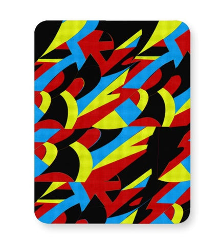 Abstract Colors Mousepad Online India