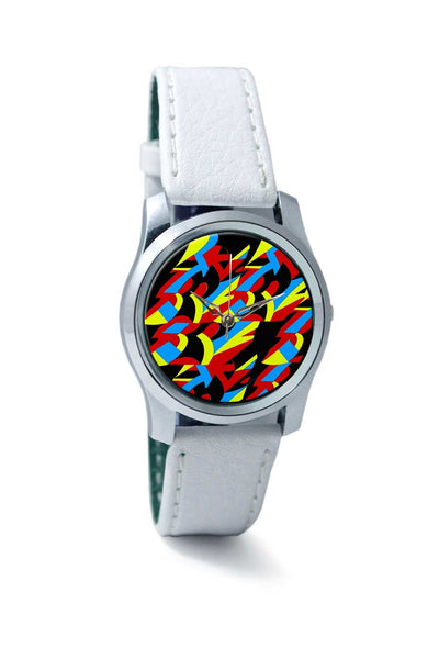 Women Wrist Watch India | Abstract Colors Wrist Watch Online India