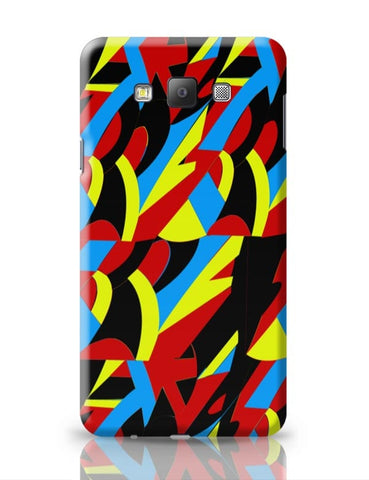 Abstract Colors Samsung Galaxy A7 Covers Cases Online India