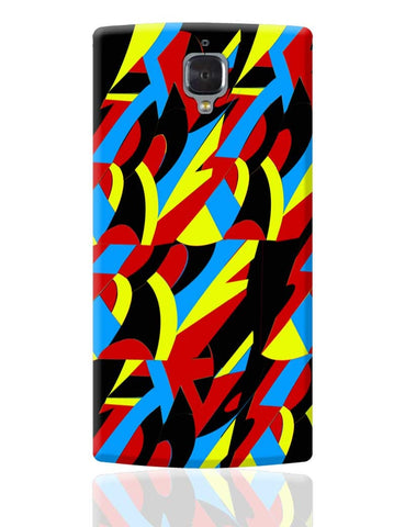 Abstract Colors OnePlus 3 Cover Online India