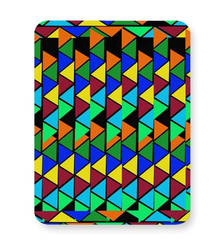 Abstract Color Triangle Mousepad Online India