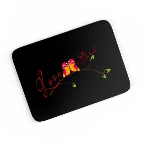 Black Love Birds A4 Mousepad Online India