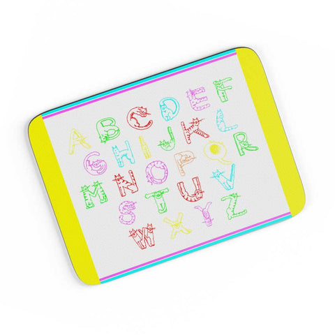 Typographic World A4 Mousepad Online India
