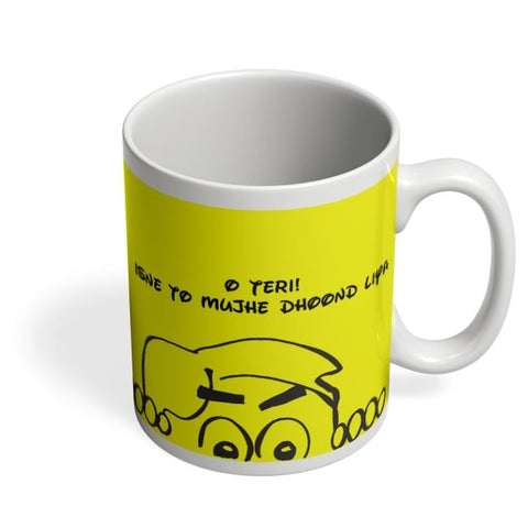 Comic Coffee Mug Online India