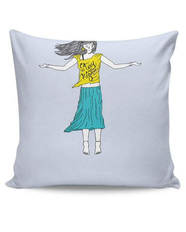 Stay High  Cushion Cover Online India