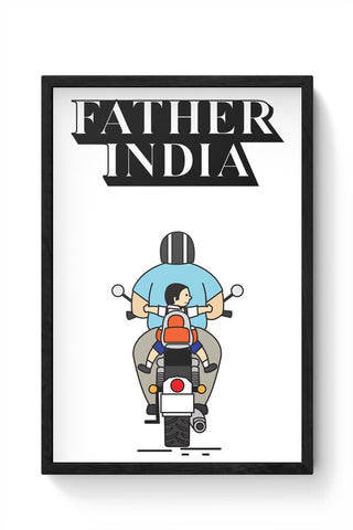 Father India Framed Poster Online India
