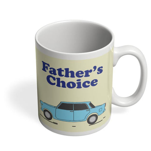 Father's car Coffee Mug Online India