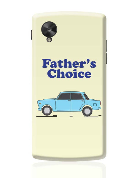 Father's car Google Nexus 5 Covers Cases Online India