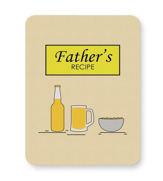 Father's recipe Mousepad Online India