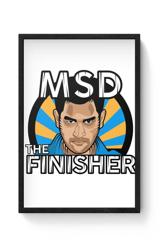 Dhoni Framed Poster Online India