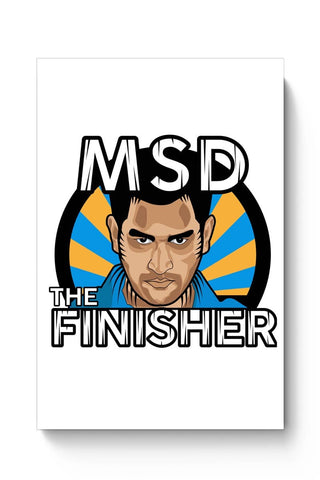 Buy Dhoni Poster