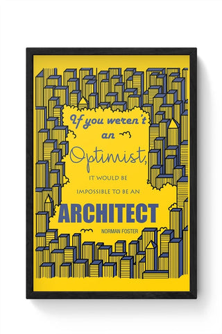ArQuote Optimism Framed Poster Online India