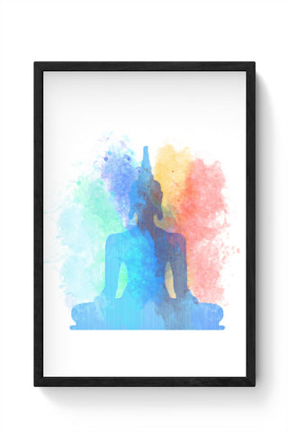 Buddha Art Framed Poster Online India