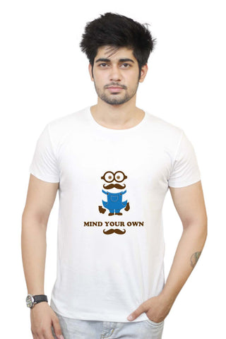 Mind Your Own Moustache T-shirt