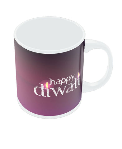 Happy Diwali Diya Light Mug