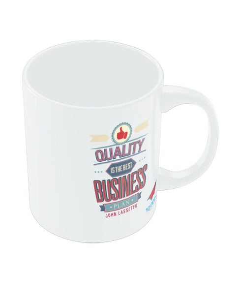 NASSCOM Quality in Business Motivational Quote Mug