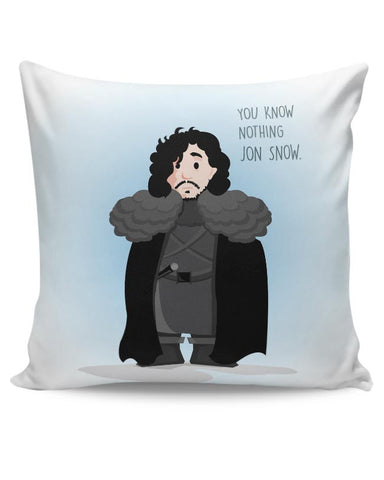 You Know Nothin Snow Cushion Cover Online India