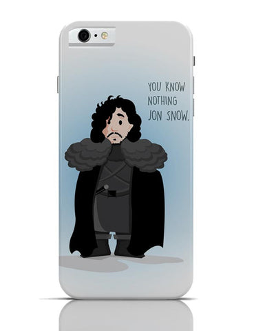 iPhone 6/6S Covers & Cases | You Know Nothin Snow iPhone 6 / 6S Case Cover Online India