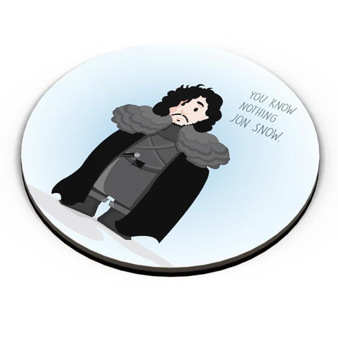 PosterGuy | You Know Nothin Snow Fridge Magnet Online India by Aishwarya Likhite