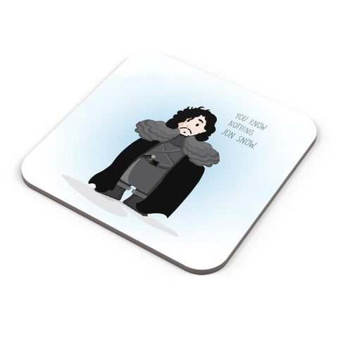 Buy Coasters Online | You Know Nothin Snow Coasters Online India | PosterGuy.in