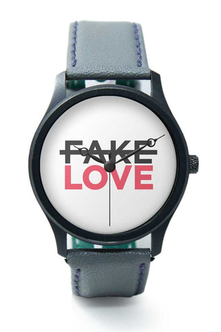 Wrist Watches India | No Fake Love Premium Wrist Watch  Online India.