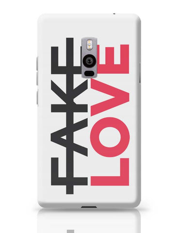 No Fake Love OnePlus Two Covers Cases Online India