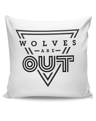 Wolves Are Out!  Cushion Cover Online India