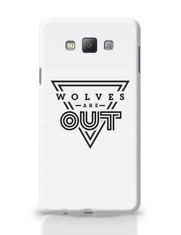 Wolves Are Out!  Samsung Galaxy A7 Covers Cases Online India