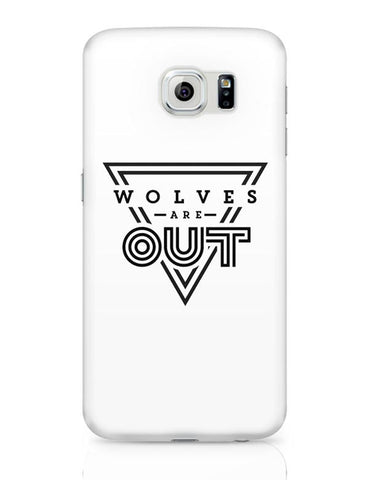 Wolves Are Out!  Samsung Galaxy S6 Covers Cases Online India