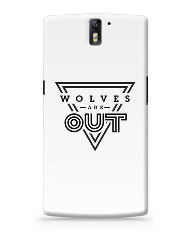 Wolves Are Out!  OnePlus One Covers Cases Online India