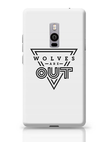 Wolves Are Out!  OnePlus Two Covers Cases Online India