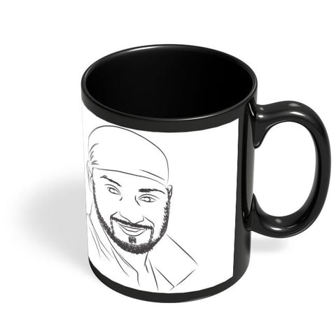 Coffee Mugs Online | Harbhajan Singh Black Coffee Mug Online India