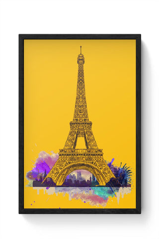 Paris Framed Poster Online India