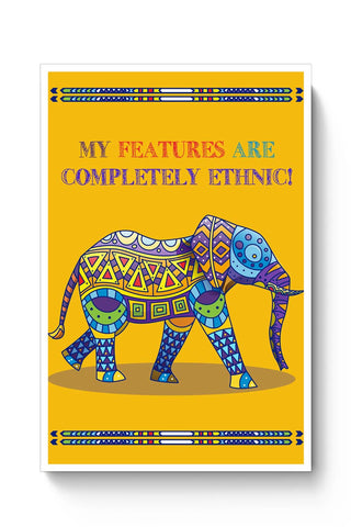 Ethnic Elephant Poster Online India