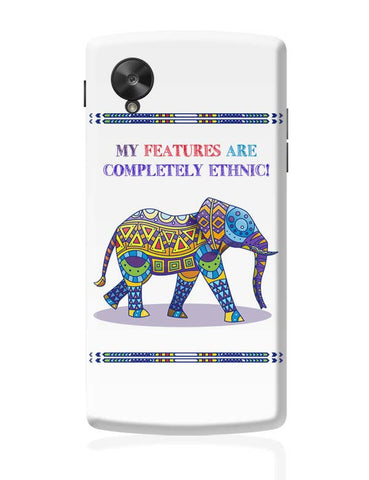 Ethnic Elephant Google Nexus 5 Covers Cases Online India
