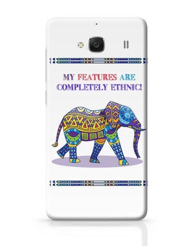 Ethnic Elephant Redmi 2 / Redmi 2 Prime Covers Cases Online India