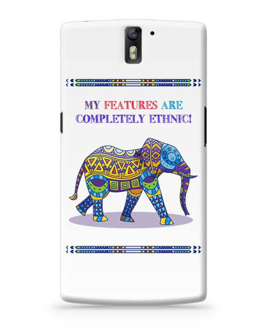 Ethnic Elephant OnePlus One Covers Cases Online India