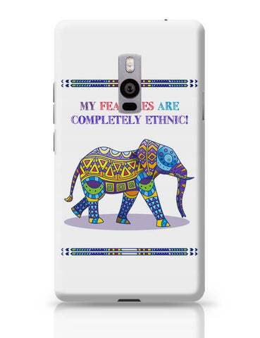 Ethnic Elephant OnePlus Two Covers Cases Online India