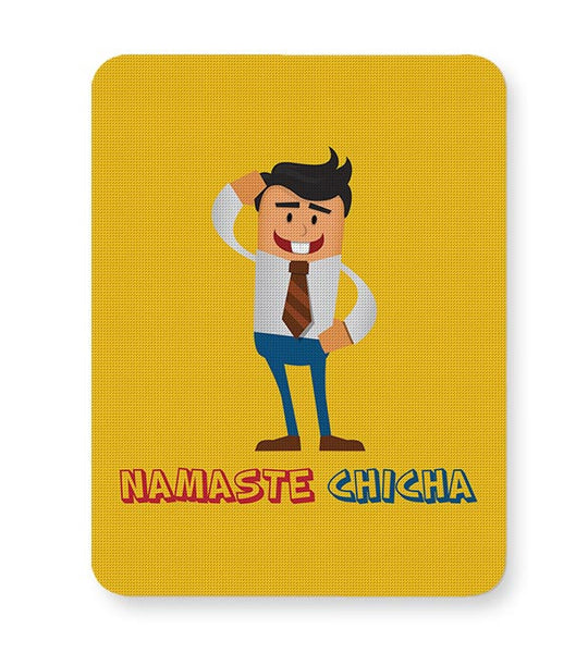 Namaste Chicha Mousepad Online India