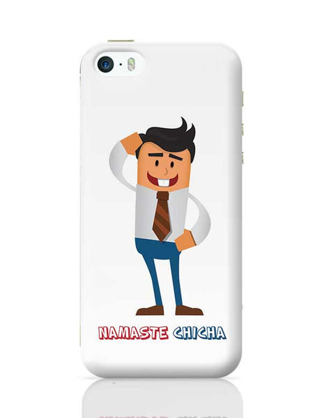 Namaste Chicha iPhone 5/5S Covers Cases Online India