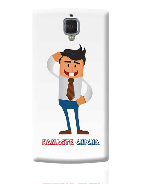 Namaste Chicha OnePlus 3 Covers Cases Online India