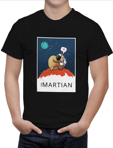 Buy The Martian Woman T-Shirts Online India | The Martian T-Shirt | PosterGuy.in