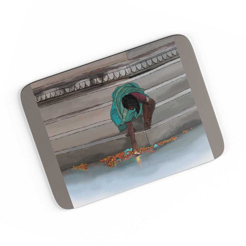 Morning Puja In India A4 Mousepad Online India