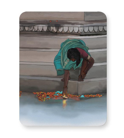 Morning Puja In India Mousepad Online India
