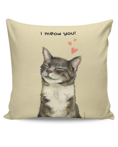 I meow you! Cushion Cover Online India