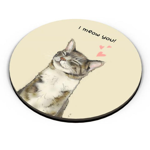 I meow you! Fridge Magnet Online India
